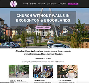 Church without walls home page