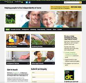 DRC home page