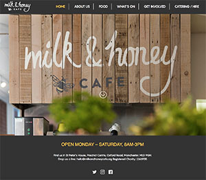 Milk and Honey home page