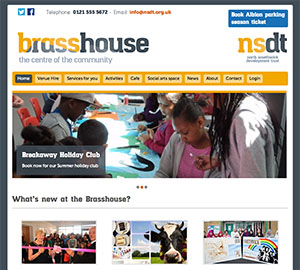North Smethwick Development Trust home page