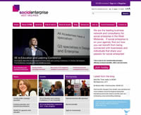 Social Enterprise West Midlands website