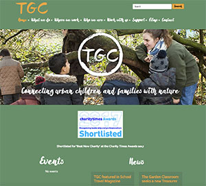 The Garden Classroom home page