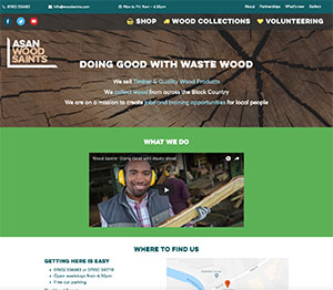 Woodsaints home page